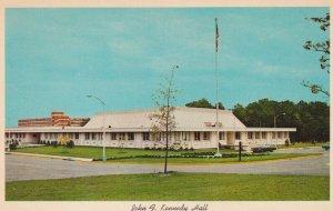 FORT BRAGG, North Carolina,1950-1960s; John F. Kennedy Hall