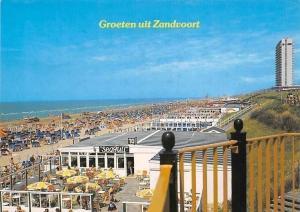 Netherlands Zandvoort Beach Terrace Plage Strandgezicht