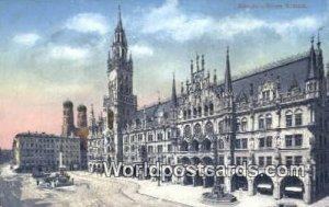 Neues Rathaus Munchen Germany Unused