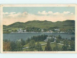 W-Border POSTCARD FROM Adirondacks - Lake Placid New York NY HM8488