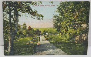 Castle Park Colchester UK Vintage Postcard