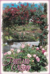 Oregon Portland Rose Garden