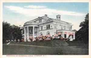 8457  RI Newport  Mansion of Pembroke Jones