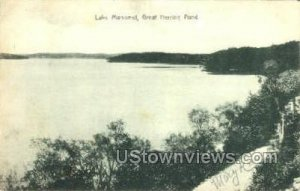 Great Herring Pond - Manomet, Massachusetts MA