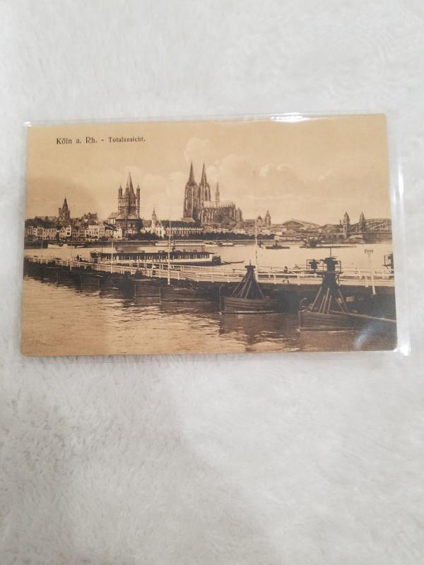 Antique Postcard, Koln a. Rh. - Totalanischt