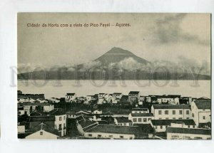 3144749 PORTUGAL Azores ACORES Cidade da Horta com Pica Fayal