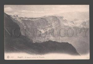 084347 ITALY Napoli Il nuova cratere del Vesuvio Vintage PC