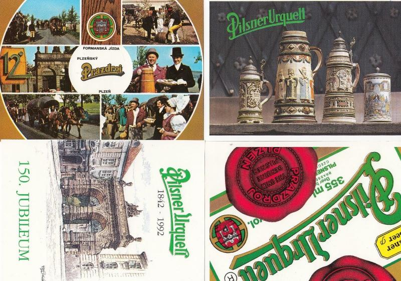 German Polish Beer Drinking Alcohol Advertising Drunk Pilsner Postcard 8x Bundle