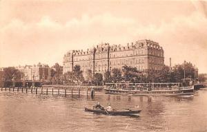 Norway Old Vintage Antique Post Card Amstel Hotel Amsterdam Unused