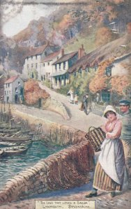LYNMOUTH, Devon, England, UK , 00-10s ; The Lass that loves a sailor