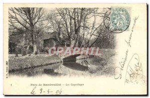 Old Postcard Park Rambouillet Shell
