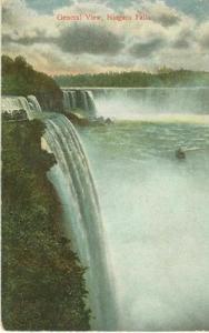 General View, Niagara Falls 1908 used Postcard