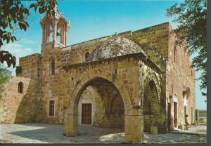 Postcard LEBANON Byblos The Baptistery Crusaders Church St John The Baptist