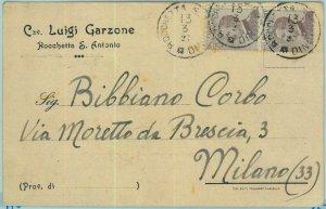97852  - CARTOLINA d'Epoca -  FOGGIA Provincia -  Rocchetta Sant'Antonio 1927