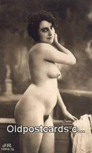 Reproduction # 104 Nude Postcard Post Card  Reproduction # 104