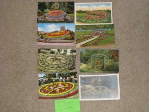 FLORAL CLOCKS FROM AROUND THE WORLD, LOT FC# 2, USED & UNUSED