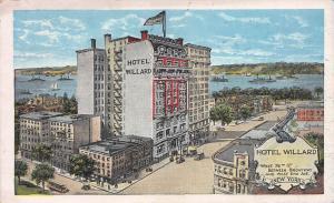 Hotel Willard, New York, N.Y., Early Postcard, Unused