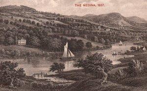 The Medina in 1837,England,UK BIN