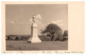 Connecticut  Groton  Soldier's Monument