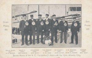 ATLANTIC CITY , New Jersey , 1901-07 ; 7 Heroes of the A.C. Yachtsmen's Asso.