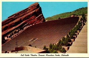 Colorado Denver Mountain Parks Red Rocks Theatre