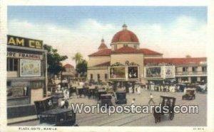 Plaza Goiti Manila Philippines Unused