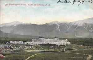 WHITE MOUNTAINS, New Hampshire, PU-1907; Mt. Washington Hotel