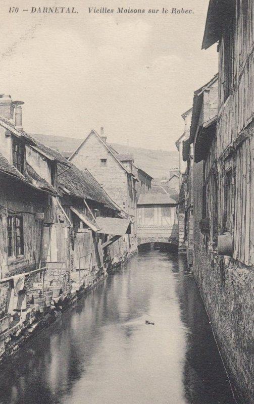 DARNETAL , France, 00-10s ; Vieilles Maisons sur le Robee