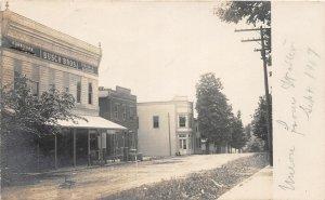 F52/ Union Missouri RPPC Postcard 1907 Busch Brothers Hardware Store