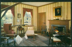 Sitting Room Residence General Salem Town Old Sturbridge Village Postcard