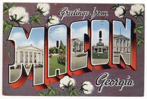 Large Letter, MACON GA
