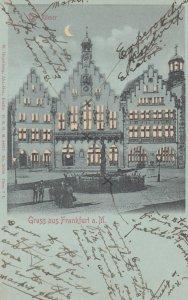 FRANKFURT a. MAIN , Germany , 00-10s : Der Romer ; H-T-L , Hold to light