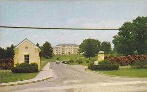 Entrance To Veterans Administration Hospital & Grounds, Oteen, North Carolina...