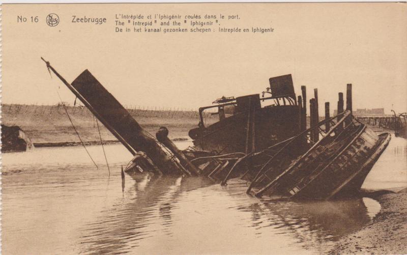 The Intrepid And The Iphigenir, ZEEBRUGG (West Flanders), Belgium, 00-10s