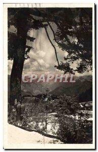 Postcard Old Peira Cava A M around Nice Chaine des Alpes