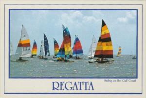 Sailing Regatta On The Gulf Coast