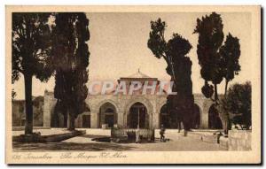 Postcard The Old Jerusalem Al-Aqsa Mosque