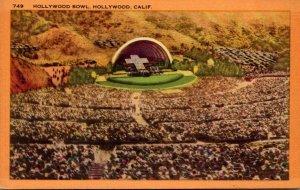 California Hollywood The Hollywood Bowl 1943