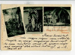 3152061 Czech Republic GRUSS aus KONIGSWART BOHMEN Bohemia