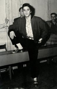 Elvis Presley & The Jordanaires at Buffalo, NY on April 1, 1957.     (Music)
