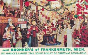 Michigan Frankenmuth Visit Bronners Of Frankenmuth
