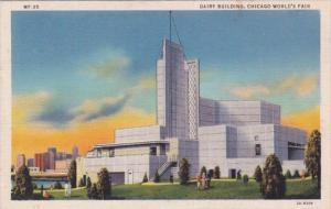 Chicao World's Fair 1933 The Dairy Building Curteich
