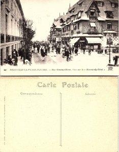 Deauville - Calvados - La Plage Fleurie - Rue Gontaut Biron - Vue sur le Norm...