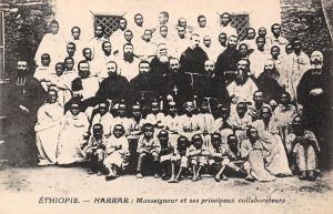 Ethiopia Harrar, Monseigneur et ses principaux collaborateurs