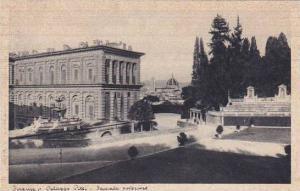 Italy Firenze Palazzo Pitti Facciata Posteriore