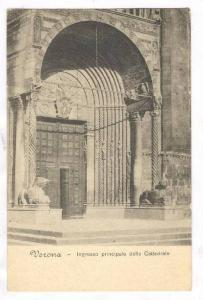 Verona , Italy, 00-10s ; Ingresso principale della Cattedrale