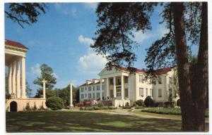 Fitzhugh Preston Hall Belhaven College Jackson Mississippi MS 1960s postcard