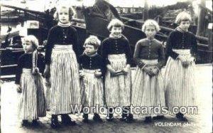 Volendam Holland Netherlands Postal Used Unknown