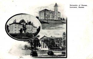 Lawrence, Kansas - The University of Kansas - c1905