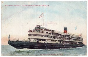 Whaleback Steamer, Christopher Columbus, En Route
